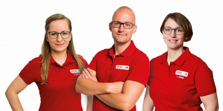 Der Kauf eines Hörgerätes ist Vertrauenssache. In besten Händen sind Kunden beim Team von OTON (v.l.): Jenny Schmidt (Hörakustikerin und angehende Hörakustik-Meisterin), Christian Sögding (Inhaber und Hörakustik-Meister) und Lioba Adolph (Hörakustik-Meisterin).